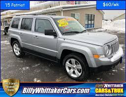 used jeep patriot used 2015 jeep patriot latitude for sale 1c4njpfb8fd157619