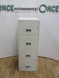 used office storage phoenix 2204 fireproof 4 drawer filing cabinet