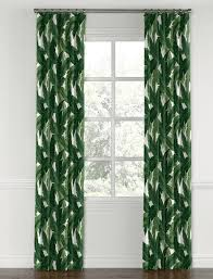 Leaf Design Curtains 10 Ways To Decorate With The Banana Leaf Trend