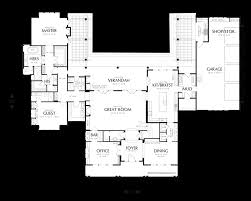 main floor plan of mascord plan 2443 the seligman master suite
