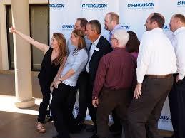 speaks at ferguson u0027s national showroom managers meeting in