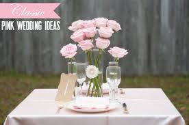 pink wedding ideas classic every last detail