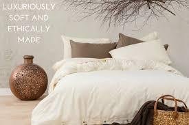 Organic Cotton Duvet Cover Quilt Cover Sets Organic Cotton Bedding Bhumi Organic Cotton