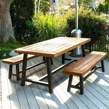Bench Style Dining Table Sets Dining Table Picnic Table Style Dining Room Set Picnic Dining Room