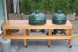 Green Table L Xl And L Big Green Egg Together Search Grills And