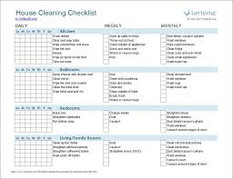 printable house cleaning schedule sle cleaning schedule template free printable house cleaning