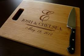 personalized cutting board wedding engraved wedding gifts personalized cutting board newlyweds
