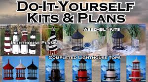 solar lighthouse light kit lighthouse kits and plans the lighthouse man