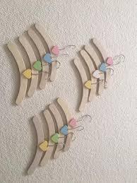 Childrens Coat Hangers Set Of 12 Wooden Baby Coat Hangers In Wandsworth London Gumtree