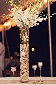 Seashell Centerpiece Ideas by 40 Amazing Beach Wedding Centerpieces Weddingomania Once Upon