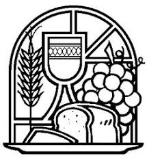 holy communion free coloring image cards communion confirmation