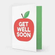 get well soon cards apple get well soon card showler and showler