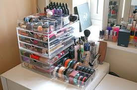 Affordable Home Decor Uk Makeup Containers Organizers Affordable Makeup Storage Solutions