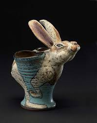 ceramic nature rabbit table l 149 best rabbit images on pinterest bunnies hare and bunny art