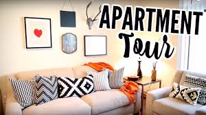 my first apartment tour i rented my furniture from cort