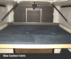 interior features four wheel campers low profile light weight
