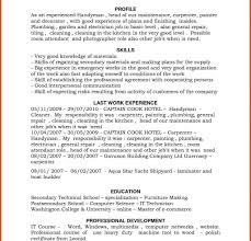 resume sle with career summary handymanme sle resume for painter surprising sles construction