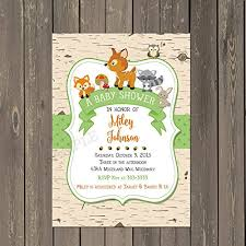 woodland baby shower invitations woodland baby shower invitation woodland animals baby