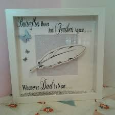 butterflies u0026 feathers vinyl shadow box remembrance memorable gift