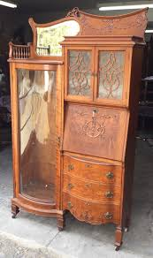 Ebay Bookcase by Fancy Victorian Oak Desk Bookcase Combination Desks Victorian