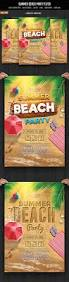 summer beach party summer beach party party flyer and flyer