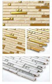 new 2015 gold glass tile kitchen backsplash mosaic tiles art