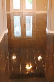Painted Basement Floors Pictures by Concrete Floors Look Like Wood To See More Photos Visit Www