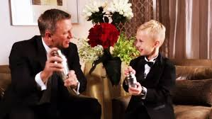huge martini forming a bond calgary boy meets daniel craig youtube