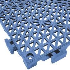 mat 2557 put poly lok 12 x 12 pool blue vinyl interlocking