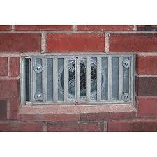 crawl space exhaust fan eliminator foundation vent fan field controls llc