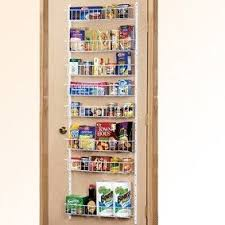 Spice Rack Pantry Door Best 25 Pantry Door Rack Ideas On Pinterest Door Organizer