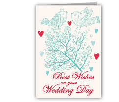 wedding greeting cards messages romancing birds wedding greeting card giftsmate
