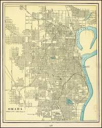 1964 World S Fair Map by 1949 Downtown Omaha Map Omahahistory Oldmaps Omaha History
