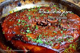 cuisiner rouelle de porc rouelle de porc au sirop d érable petits plats entre amis