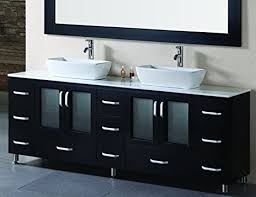 double bowl sink vanity elegant vessel sink vanity for wonderful bowl on top of best ideas