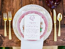gold flatware rental 94 best purple wedding inspiration images on purple