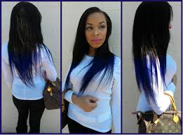 guide on how to go about best blue black hair color hair colors