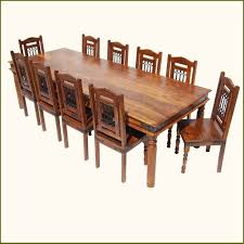 Rustic Large Dining Room Table Chair Set For  People Formal - Dining room chair sets