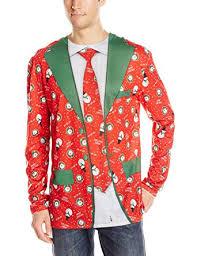 christmas suit faux real men s faux christmas suit and tie