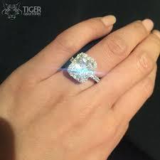 1 4 carat engagement ring 4 carat engagement rings trendy real 4 carat rings