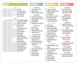 printable house cleaning schedule house cleaning tips and yes this is serious cleaning checklist