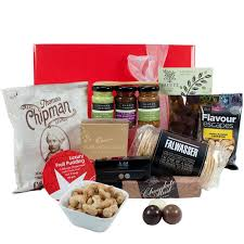 Christmas Basket Gift Wrapped Up Gourmet Christmas Hamper Treats Gift Wrapped Up