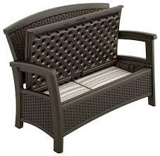 suncast outdoor storage bench best ultimate gallon resin patio