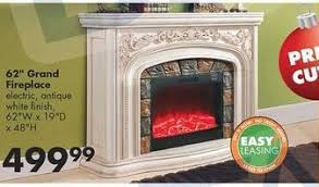Electric Fireplace At Big Lots by 62 Grand Antique White Electric Fireplace Electric Fireplace Heat