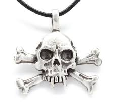 buy wholesale lot of 50 crossbones pirate gothic punk biker skull