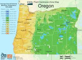 oregon alabama plant hardiness zone map mapsof net