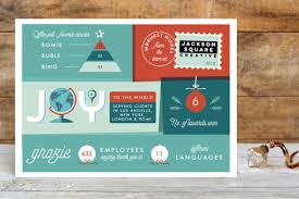 Business Holiday Card Infographic Joy Business Holiday Cards By Bonjour Minted