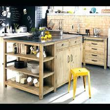 bloc central cuisine meuble cuisine indacpendant bois meuble de cuisine alinea meuble