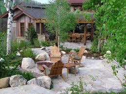 colorado residence rustic landscape denver by land design