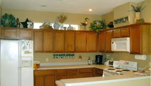 Decorate Top Of Kitchen Cabinets Kitchen Cabinets Decor On Top Cabinet Decorating Ideas Small